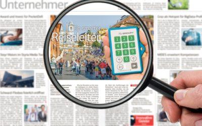 """Die """"Steirische Wirtschaft"""" präsentiert Groupy"""