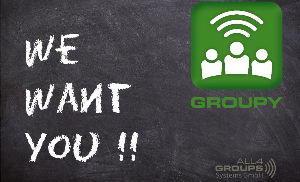 Wir suchen Sie!